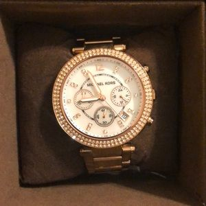 Micheal Kors Women's Rose gold watch